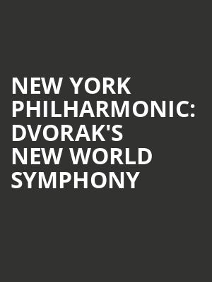 New York Philharmonic%3A Dvorak's New World Symphony at Avery Fisher Hall