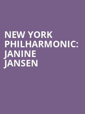 New York Philharmonic%3A Janine Jansen at Avery Fisher Hall