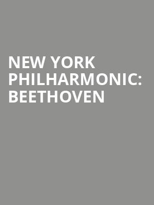 New%20York%20Philharmonic:%20Beethoven%20 at Avery Fisher Hall