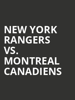 New%20York%20Rangers%20vs.%20Montreal%20Canadiens at Madison Square Garden