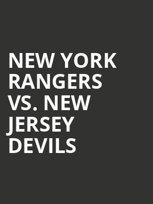 New%20York%20Rangers%20vs.%20New%20Jersey%20Devils at Madison Square Garden