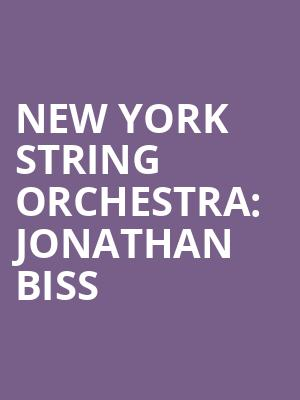 New York String Orchestra%3A Jonathan Biss at Isaac Stern Auditorium