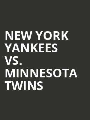 New%20York%20Yankees%20vs.%20Minnesota%20Twins at 13th Street Repertory Theater
