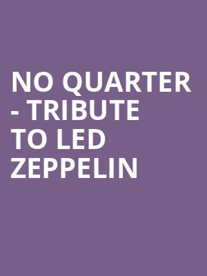 No Quarter - Tribute to Led Zeppelin at The Cutting Room