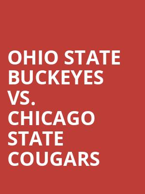 Ohio%20State%20Buckeyes%20vs.%20Chicago%20State%20Cougars at Kraine Theater