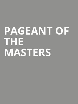 Pageant%20of%20the%20Masters at 13th Street Repertory Theater