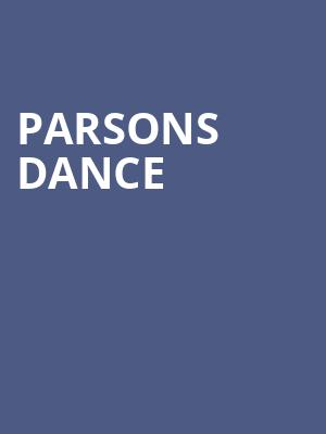 Parsons Dance at Chase Room