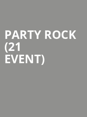 Party Rock (21+ Event) at Le Poisson Rouge