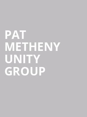Pat%20Metheny%20Unity%20Group at Town Hall Theater