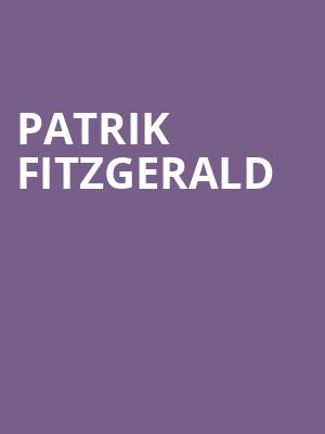 Patrik Fitzgerald at Concert Hall At Suny Purchase