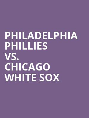 Philadelphia%20Phillies%20vs.%20Chicago%20White%20Sox at 13th Street Repertory Theater