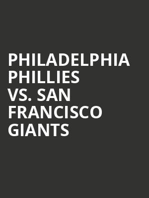 Philadelphia%20Phillies%20vs.%20San%20Francisco%20Giants at Wings Theater