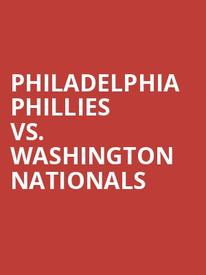 Philadelphia%20Phillies%20vs.%20Washington%20Nationals at Jane Street Theater