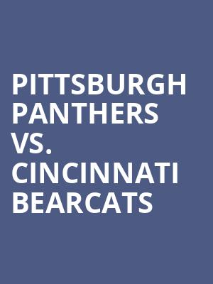 Pittsburgh%20Panthers%20vs.%20Cincinnati%20Bearcats at Gallery MC