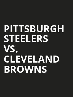 Pittsburgh%20Steelers%20vs.%20Cleveland%20Browns at Walkerspace Theater