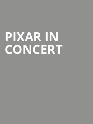 Pixar In Concert at Avery Fisher Hall