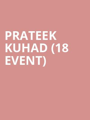 Prateek Kuhad (18+ Event) at Le Poisson Rouge
