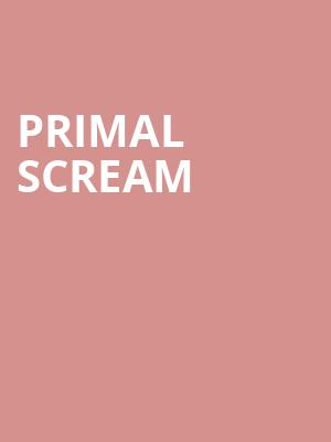 Primal Scream at Bergen Performing Arts Center