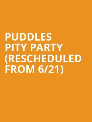Puddles Pity Party (Rescheduled from 6/21) at Tarrytown Music Hall