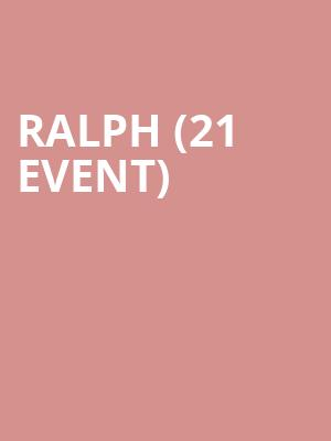 Ralph (21+ Event) at Berlin NYC