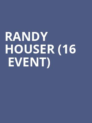 Randy Houser (16+ Event) at Webster Hall