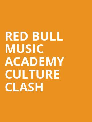 Red%20Bull%20Music%20Academy%20Culture%20Clash at Roseland Ballroom