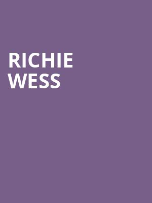 Richie Wess at Gramercy Theatre