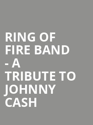 Ring Of Fire Band - A Tribute To Johnny Cash at B.B. King Blues Club