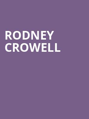 Rodney Crowell at New York City Winery