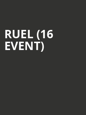 Ruel (16+ Event) at Bowery Ballroom