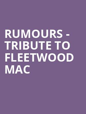 Rumours - Tribute to Fleetwood Mac at Gramercy Theatre
