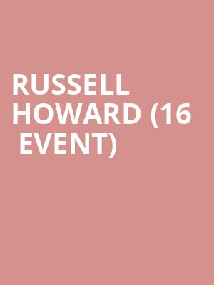 Russell Howard (16+ Event) at Gramercy Theatre