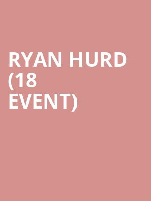 Ryan Hurd (18+ Event) at Bowery Ballroom