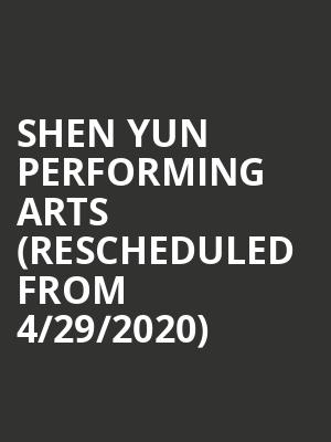 Shen Yun Performing Arts (Rescheduled from 4/29/2020) at Victoria Theater