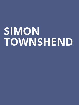 Simon Townshend at New York City Winery
