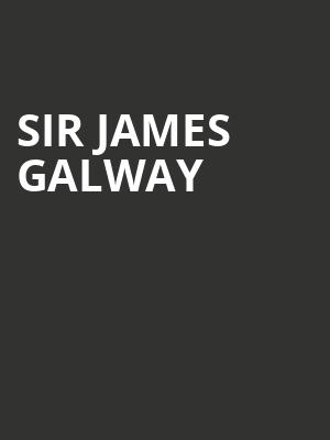 Sir James Galway at Bergen Performing Arts Center