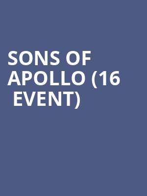 Sons of Apollo (16+ Event) at Gramercy Theatre