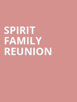 Spirit%20Family%20Reunion at Bowery Ballroom