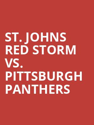St.%20Johns%20Red%20Storm%20vs.%20Pittsburgh%20Panthers at Madison Square Garden
