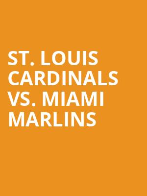 St.%20Louis%20Cardinals%20vs.%20Miami%20Marlins at 14th Street Y Theater