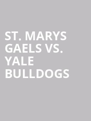St.%20Marys%20Gaels%20vs.%20Yale%20Bulldogs at Jane Street Theater