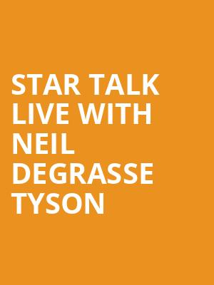 Star Talk Live with Neil deGrasse Tyson at Beacon Theater
