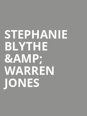 Stephanie Blythe %26 Warren Jones at Isaac Stern Auditorium
