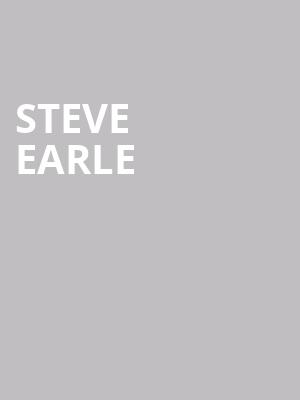 Steve Earle at Town Hall Theater