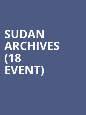 Sudan Archives (18+ Event) at Bowery Ballroom