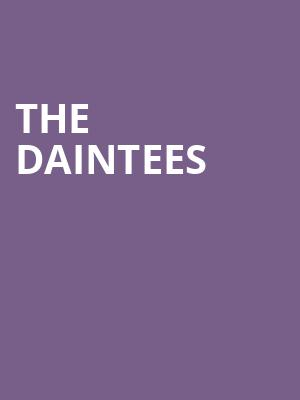 THE DAINTEES at Mccarter Theatre Center