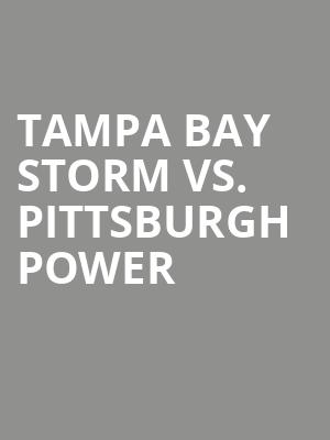 Tampa%20Bay%20Storm%20vs.%20Pittsburgh%20Power at 13th Street Repertory Theater