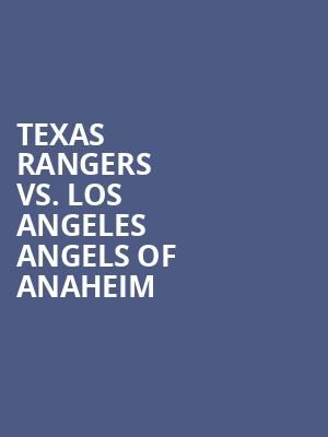 Texas%20Rangers%20vs.%20Los%20Angeles%20Angels%20of%20Anaheim at 13th Street Repertory Theater