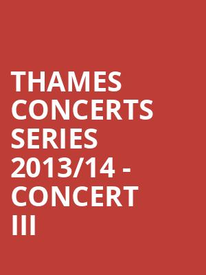 Thames Concerts Series 2013%2F14 - Concert III at Mccarter Theatre Center