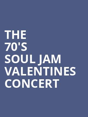 The 70's Soul Jam Valentines Concert at Beacon Theater